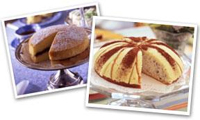 ヴィクトリアサンドイッチケーキとズコット